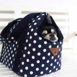 Let's Polka- Deluxe Pet Carrier